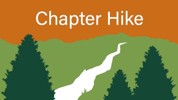 Elements of the TTA logo with the words Chapter Hike added