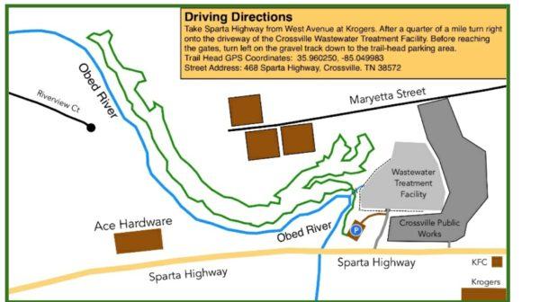 Marietta Trail map